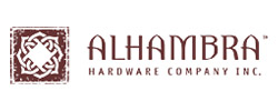 "Alhambra 'Curtains-Up"" Hardware"
